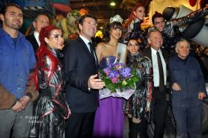 Election de la reine du carnaval de nice 2013