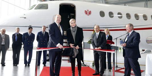 Albertii de Monaco et son épouse Charlene