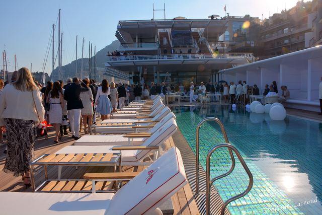 Monaco inauguration du yacht club avec toute la famille - Salon du yacht monaco ...