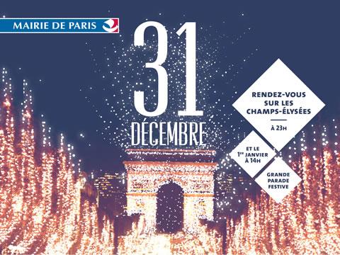 NOUVEL AN AUX CHAMPS-ELYSÉES - UN SPECTACLE VISUEL ET GRANDE PARADE LE 1ER JANVIER 2015