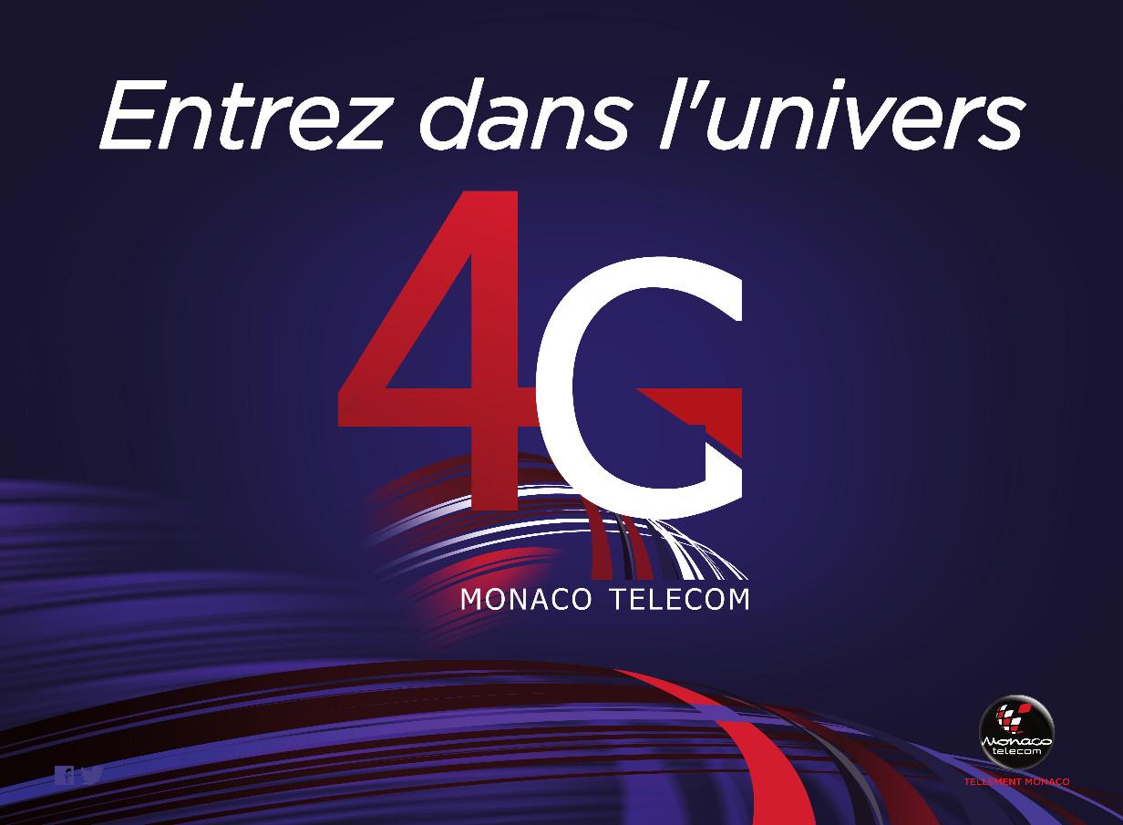 MONACO TELECOM LANCE LA 4G