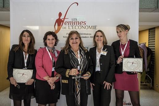 FEMMES DE L'ÉCONOMIE - CINQ AZURÉENNES AU PALMARÉS NATIONAL