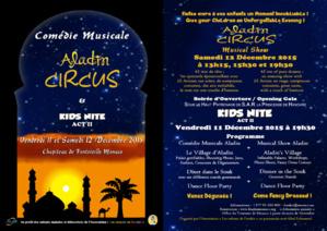 ALADIN CIRCUS - COMÉDIE MUSICALE