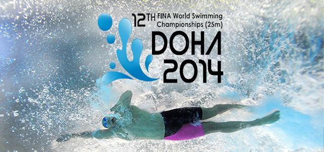 12e CHAMPIONNATS DU MONDE DE NATATION 2014 A DOHA AU QATAR
