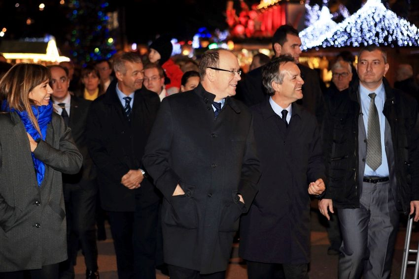 Inauguration Village de Noël 2014