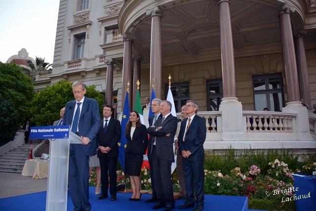 FÊTE NATIONALE ITALIENNE CÉLÉBRÉE DANS LES JARDINS MASSÉNA