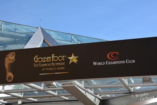 Golden foot Monaco