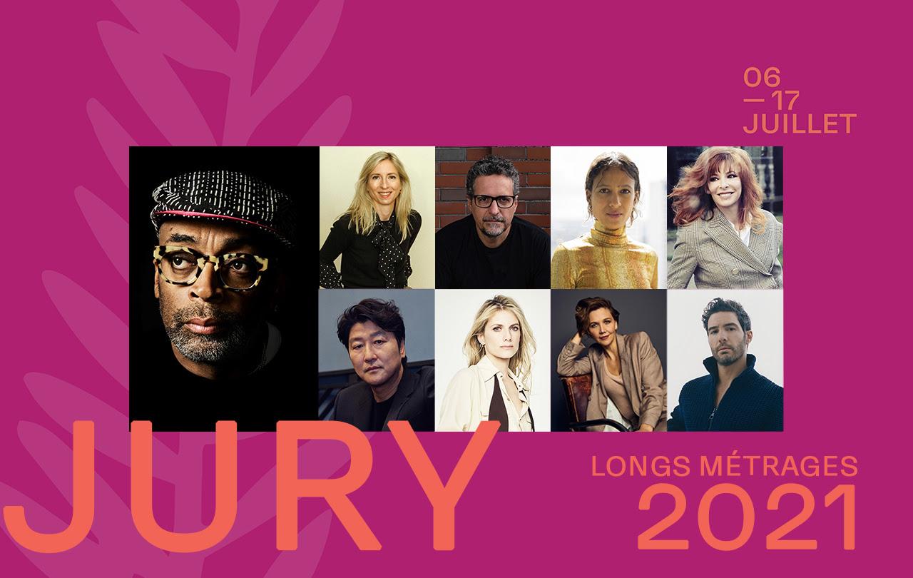 LE JURY DU FESTIVAL DE CANNES 2021