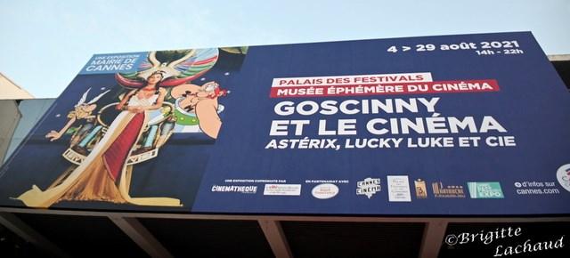 GOSCINNY ET LE CINEMA, ASTERIX, LUCKY LUKE ET CIE AU PALAIS DES FESTIVALS DE CANNES