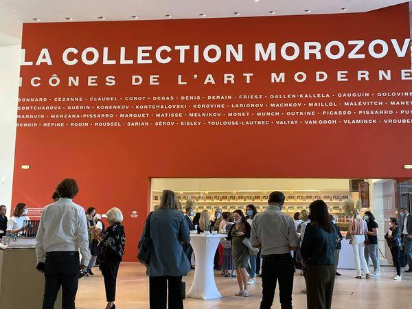 LA COLLECTION MOROZOV A PARIS A LA FONDATION LOUIS VUITTON